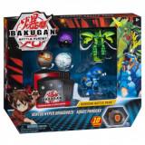Bakugan - set de lupta cu 5 bile Ventus Hyper Dragonoid si Aquos Pandoxx