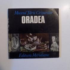 MUZEUL TARII CRISURILOR , ORADEA , GALERIA DE ARTA , GHID , 1973