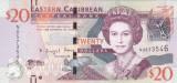 Bancnota Caraibe ( Eastern Caribbean ) 20 Dolari (2016) - P53b UNC