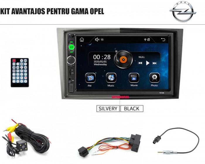 [KIT] MP5 Player pentru OPEL, WinCE, Bluetooth, USB, CardSD, Camera Marsarier, Auxiliar, Mirrorlink, Touchscreen, - AD-BGPOPEL7010B