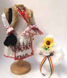 Cumpara ieftin Set Traditional Botez Fetita - Costumas + Lumanare 3