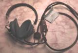 Casti audio ca noi radio vechi galene  cu eticheta au 2x2200 ohmi adica 4400 omi