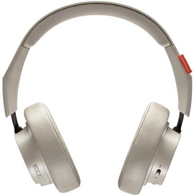 Casti WIreless Bluetooth Backbeat GO 600 Over Ear, Passive Noise Cancellation, Microfon, Buton Control, Khaki foto