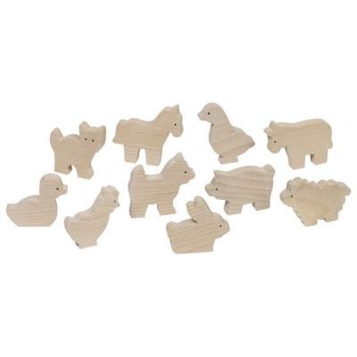 Set 10 animale de la ferma foto