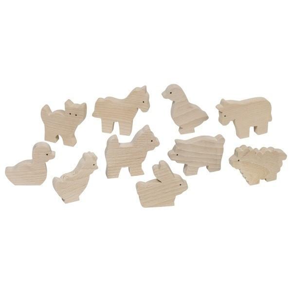Set 10 animale de la ferma