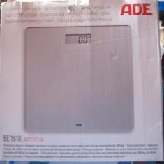 Cantar de baie electronic ADE amina Afisaj LCD, max 180 Kg