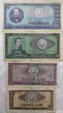 BANCNOTE 5 / 10 / 50 / 100 LEI 1966