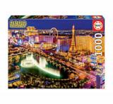 Cumpara ieftin Puzzle Neon Las Vegas, 1000 piese, Educa