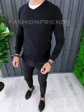 Pulover fashion barbati - negru - COLECTIE NOUA A6453