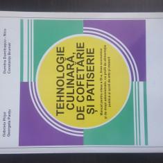 TEHNOLOGIA CULINARA DE COFETARIE SI PATISERIE - Manual clasa a IX-a.