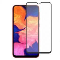 Folie sticla securizata Samsung Galaxy A10, 9D, Full Glue, Negru