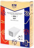 Sac aspirator ETA 419, hartie, 5X saci + 2 filtre, KM