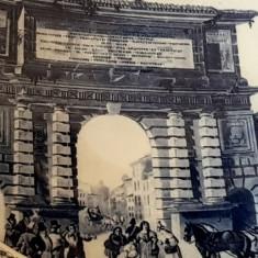 Reducere! Portelan Hutschenreuther - farfurie perete - tablou Poarta Romana