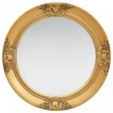 Oglindă de perete în stil baroc, auriu, 50 cm, vidaXL