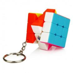 Cub Rubik 3x3 Breloc Jiehui