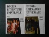 OVIDIU DRIMBA - ISTORIA LITERATURII UNIVERSALE 2 volume