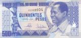 Bancnota Guineea Bissau 500 Pesos 1990 - P12 UNC