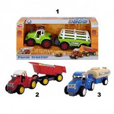 Tractor cu remorca Farm tractor 3473036 Dickie