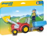 1.2.3 Tractor cu Remorca, Playmobil