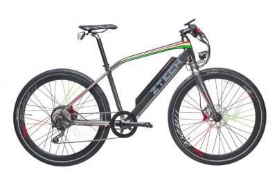 Bicicleta electrica cu cadru aluminiu ZT-85 RAPID (700C) ARGINTIU foto
