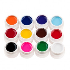 Set 12 geluri UV Color ENS PRO Magic Nails + CADOU