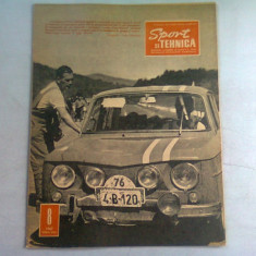 REVISTA SPORT SI TEHNICA NR.8/1967