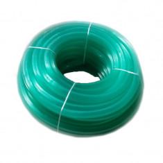 Furtun silicon striat RID, 3/4, 100 m, circumferita 24 cm, Verde