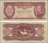 Ungaria - 100 forint - 1984 (B0004) - starea care se vede