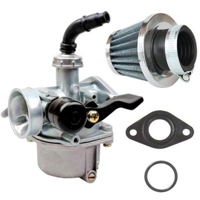 Carburator Atv 125 soc la Mana + Filtru Aer + Garnituri Carburator foto