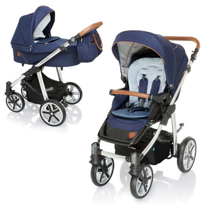 Baby Design Dotty 30 Deep Ocean 2019 - Carucior 2 in 1 foto