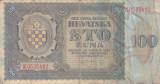 CROATIA 100 kuna 1941 VF-!!!