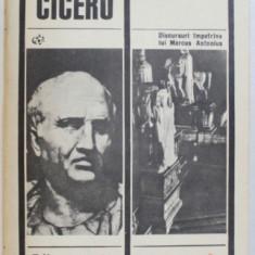 FILIPICE .DISCURSURI IMPOTRIVA LUI MARCUS ANTONIUS de MARCUS TULLIUS CICERO , 1968