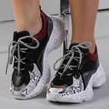 Pantofi sport dama Ailis negri, 37 - 41