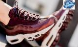 """ADIDASI ORIGINALI 100% Nike  Air Max 95 Premium"""" Burgundy """" din germania nr 38"""