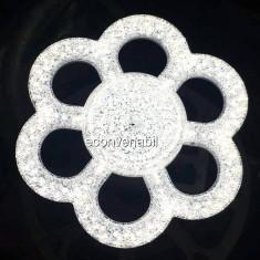Lampa LED Floare 36W Alb Rece E27 28cm