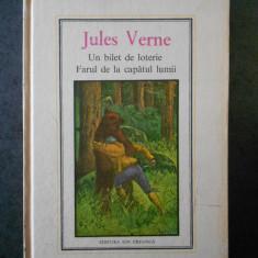 JULES VERNE - UN BILET DE LOTERIE. FARUL DE LA CAPATUL LUMII (1975)