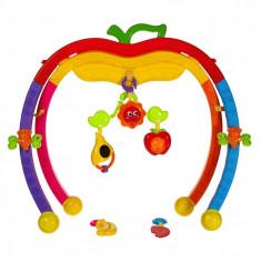Zornaitoare bebelusi cu accesorii, 52x8x36 cm, multicolor