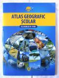 ATLAS GEOGRAFIC SCOLAR - CLASELE V-VIII, 2012. Nou, Alta editura