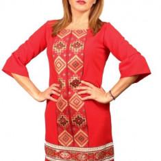 Rochie Stilizata cu Motive Traditionale Izabela 4