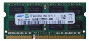 Memorie ram sodimm SAMSUNG 4Gb DDR3 1333Mhz PC3-10600S 1.5V,m471b5273ch0-ch9