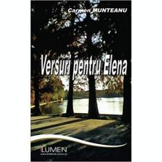 Versuri pentru Elena - Carmen MUNTEANU