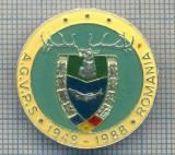 AX 163 INSIGNA VANATOARE SI PESCUIT SPORTIV PERIOADA RSR -A.G.V.P.S -1948-1988
