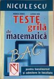 Teste grila de matematica Rodica Danet, Lucian Nita
