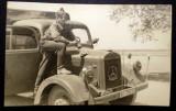 P.090 FOTOGRAFIE RAZBOI MILITAR GERMAN WWII WEHRMACHT CAMION Mercedes-Benz L3000