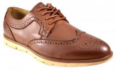 Pantofi barbati maro eleganti vintage II foto