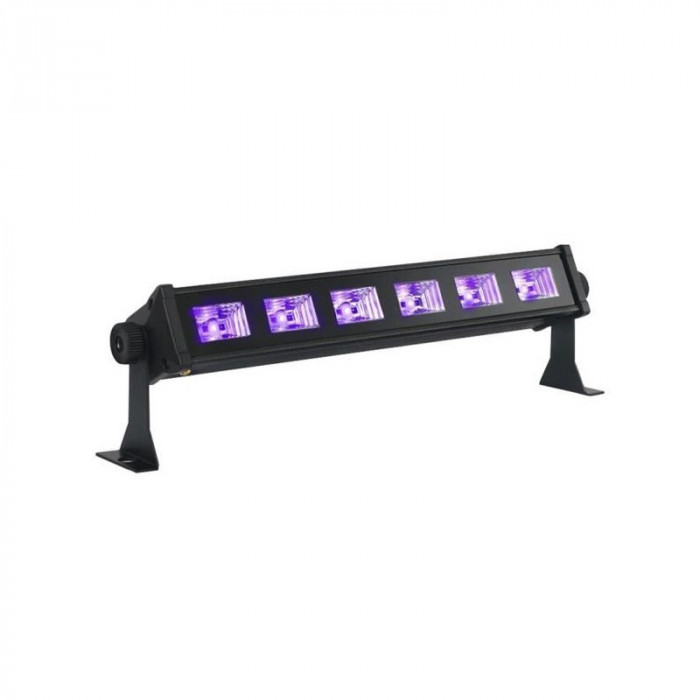 Bara cu LED-uri UV Bar, 6 x 3 W, 36 x 5 x 9.5 cm