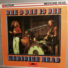 Medicine Head – One & One Is One (1973/Polydor/RFG) -  Vinil/Vinyl/Impecabil