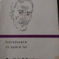 LXXC3 Introducere in opera lui G.Bacovia -Dinu Flamand 1979