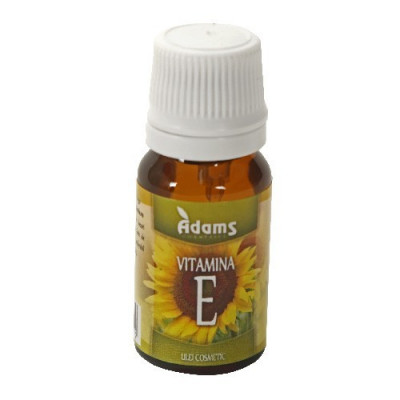 Ulei Vitamina E, 10ml, Adams Vision foto