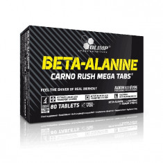 Olimp Beta-Alanine Carno Rush Mega Tabs, 80 tablete